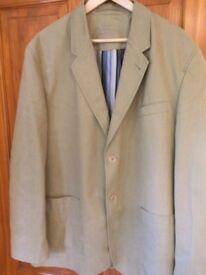 Men's large beige jacket