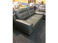 Brand new very modern leather suite