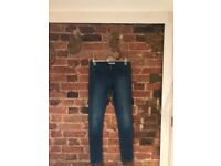 "Topshop Blue ""Leigh"" Jeans"