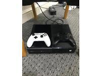 Xbox One Microsoft 500GB 2 Controllers Black NO SWAPS!!!!