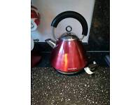 Kettle morphy Richards red