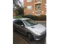 Good little Peugeot 206 (petrol), 2002 with only 76,000 miles.