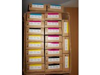 Epson inks T8901/02/03/04--t6871/72/73/74--t6364/68/6A/6B All 1,500 pounds