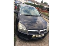 2004 (54 plate) Vauxhall Astra 1.6L (Low Mileage) MOT & Taxed Quick Sale