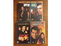 James Bond 007: VHS Tape Collection