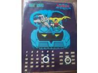 Kids educational Batman magnetic calendar use every year!
