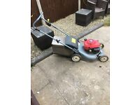 Honda petrol lawnmower