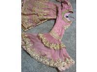 Asian peplum dress