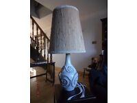 Retro 60's Vintage Pottery Stoneware Lamp