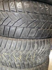 265/55/19 Used winter Dunlop tires