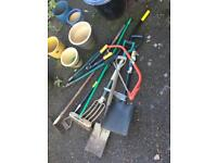 Garden tools £5 each or £25 the lot