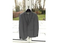Grey Young Mens Next Suit, worn once only