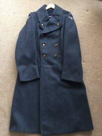 Mens Vintage RAF genuine issue Greatcoat