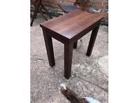 Stanton Dark Oak Table - Next