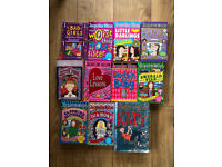 Lot of 11 Jacqueline Wilson books - collect Fleet or Wokingham