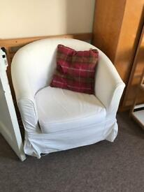 Tub chair armchair ikea