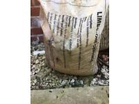 Limestone clippings from wickes