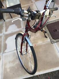 Raleigh road women's bike