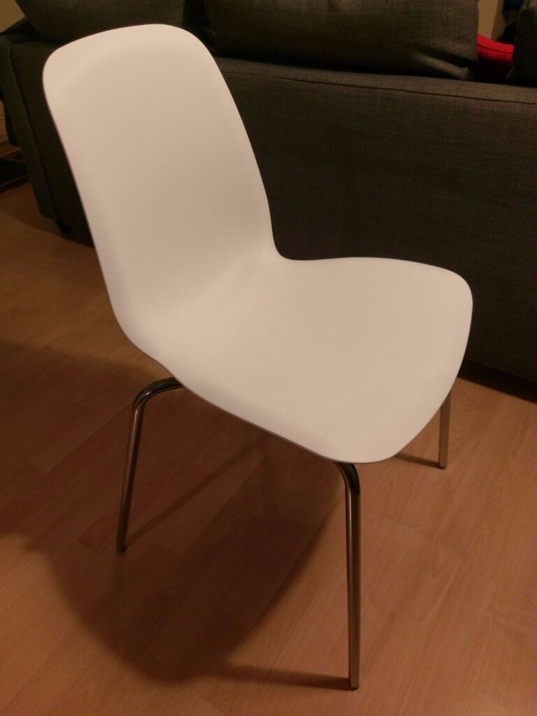 Chair with Chrome Plated Legs
