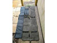 NGT Extra Padded Deluxe 3 Made Up 3 Unmade Carp Runner Fishing Rod Holdall Bag - £20 o.n.o for sale  St Austell, Cornwall