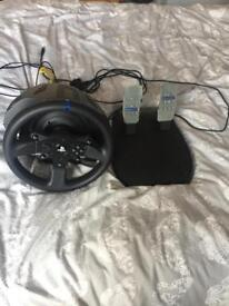 Thrushmaster T300RS racing wheel for PS3/PS4