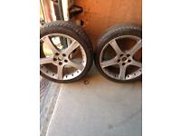 X2 alloy jaguar wheels