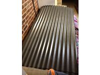 1x2100x1050x0.7corrugated steel roofing sheet