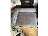 Large Memory foam matteress dog bed