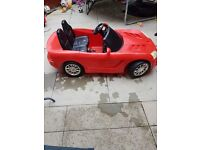 Electric car ride on DODGE VIPER 12 V