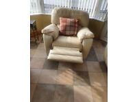 3.2.1 Cream leather sofa