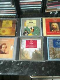 """The """"great composers and their music""""complete set(45 c.d's)."""