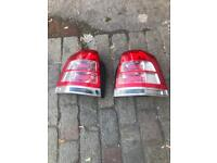 Vauxhall Zafira rear lights