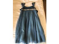 Monsoon party dress; age 6-7 years; worn but in beautiful condition