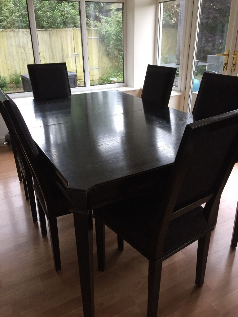 Dining Table And Six Chairs Laura Ashley Henshaw