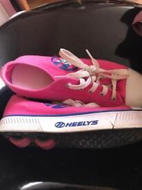 Pink heelys