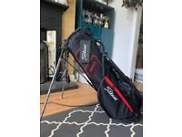 Boxfresh Titleist Players 4 Carbon Stand bag for sale (Black/Red)