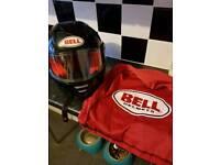 Bell crash helmet