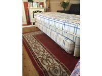 Single bed with fold away guest bed