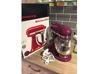 Brand new purple kitchenaid mixer