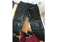 G force bike leather trousers 46 inch