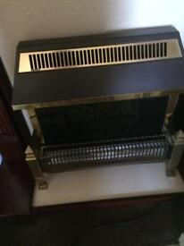 Canopy style electric fire