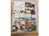 Nintendo Wii bundle: Wii, 2 controllers, Wii board and loads of accessories