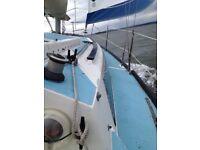 Mirage 28 Fin keel sailing boat
