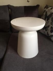 Metal occasional side table
