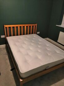 Double Bed - Mattress & Frame