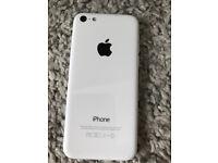 Unlocked iPhone 5C White. 16GB
