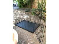 large one door dog crate