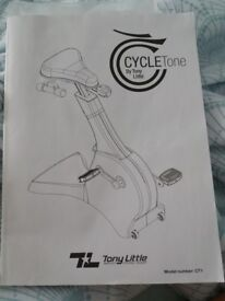 Cycle tone exercise bike. Never used