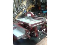 Coronet woodworking machine