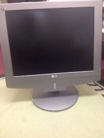 used lg 20 inch lcd tv in working condition